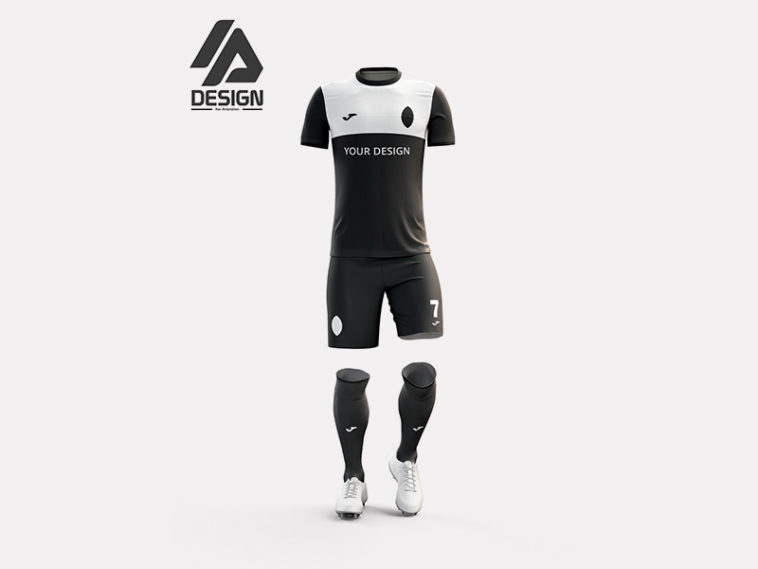 Football Jersey Mockup Kit, Smashmockup