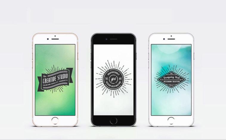 Vector Iphone 6 Mockup, Smashmockup