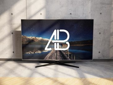 4k TV Mockup, Smashmockup