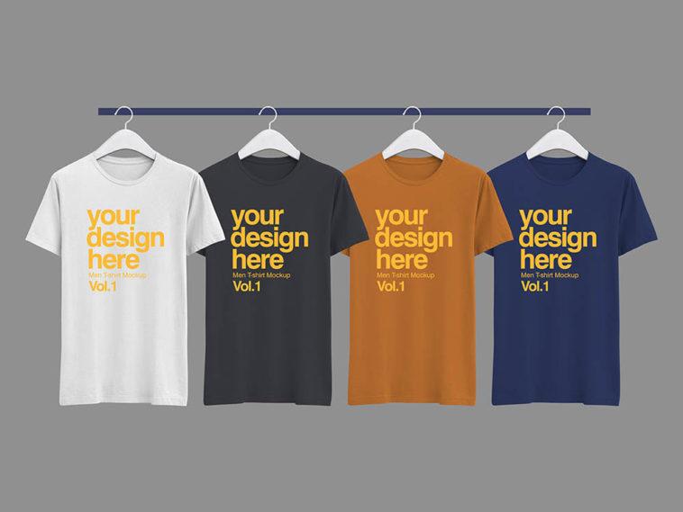 T-Shirt Mock-up PSD, Smashmockup