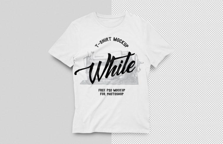 White T-Shirt Mockup, Smashmockup