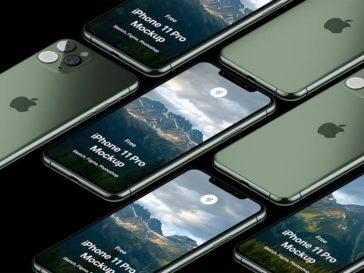 iPhone 11 Pro Isometric Mockup, Smashmockup