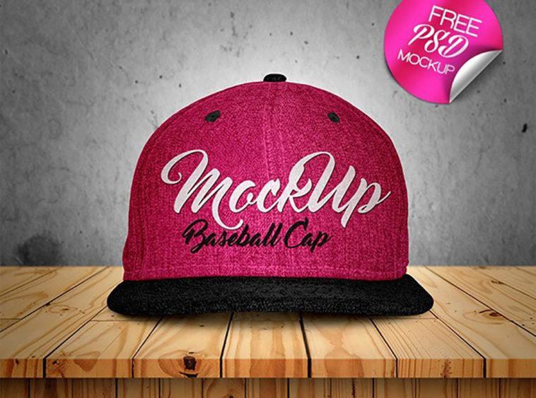Fashion Baseball Cap Mockup, Smashmockup