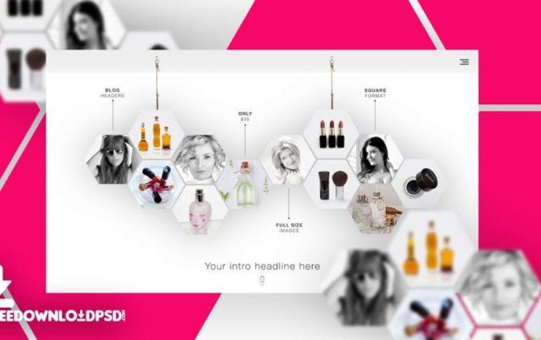 Multipurpose Website Mockup PSD, Smashmockup