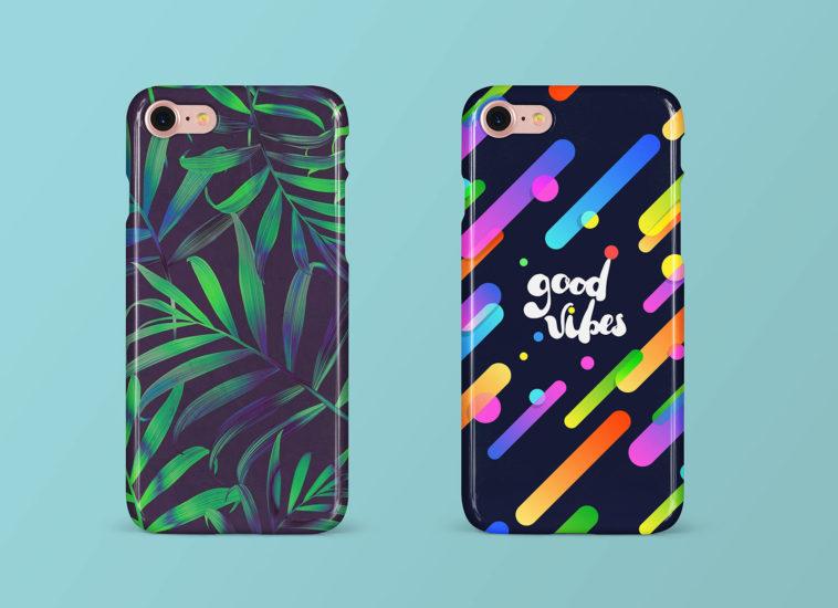 Photorealistic iPhone Case Mockup, Smashmockup