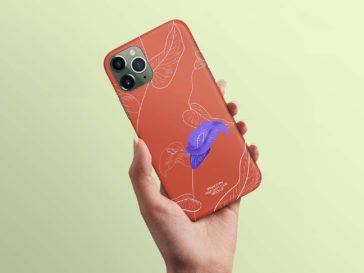 iPhone 11 Pro Case Mockup, Smashmockup