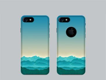 iPhone 7 Cover Case Mockup, Smashmockup