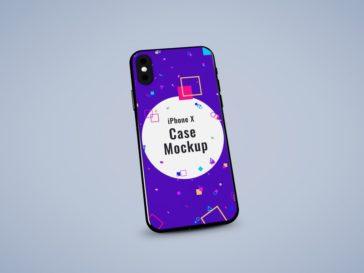 iPhone X Case Mockup, Smashmockup