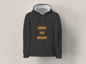 Man Hoodie PSD Mockup, Smashmockup