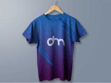 Elegant Hanging Cotton T-Shirt Mockup, Smashmockup