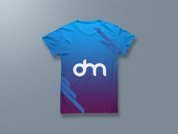Men's T-shirt Mockup, Smashmockup
