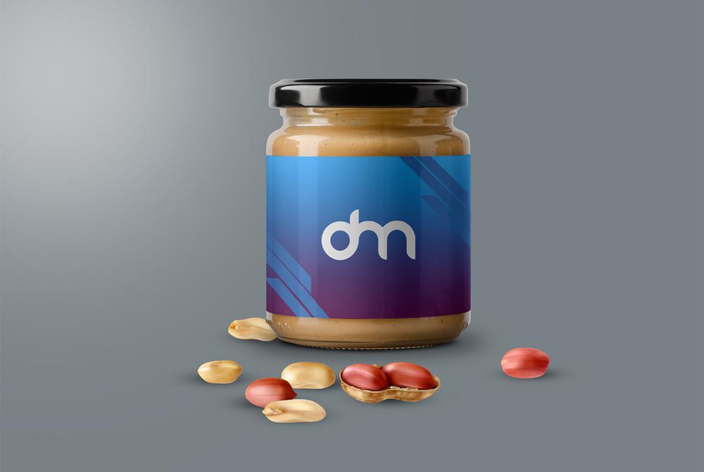 Free Peanut Butter Jar Mockups