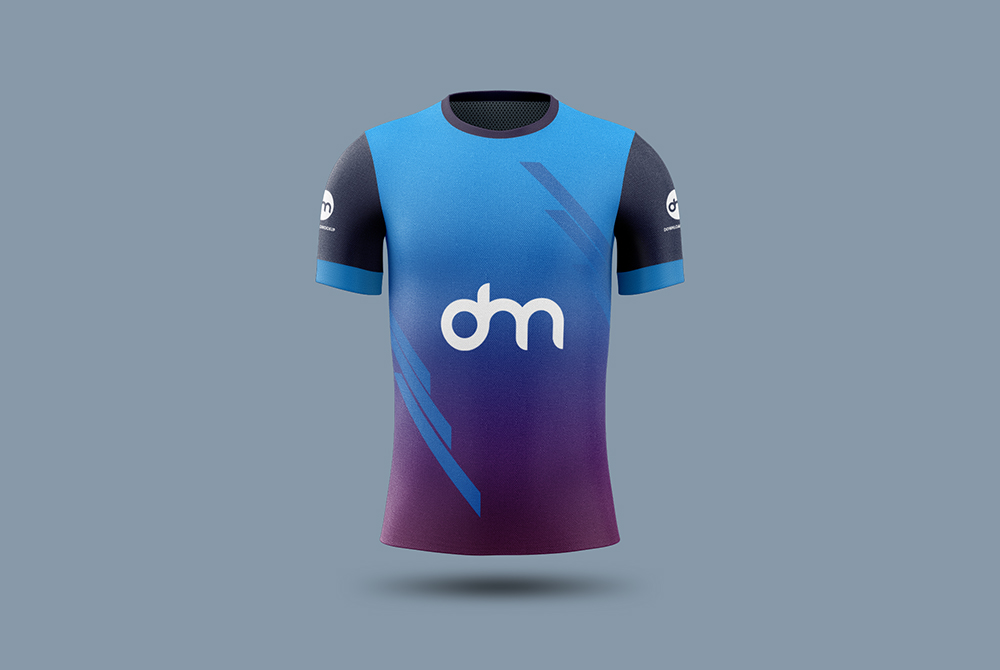 Download Soccer Jersey Mockup Template - Free Download