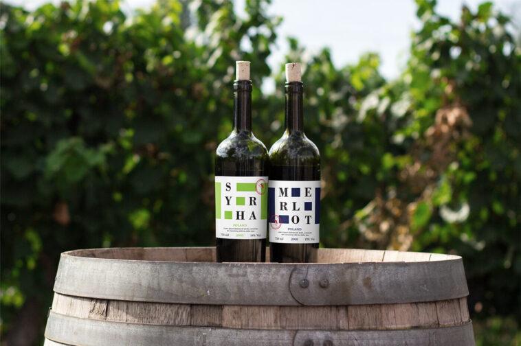 Wine Bottles Mockup on Outdoor, Smashmockup