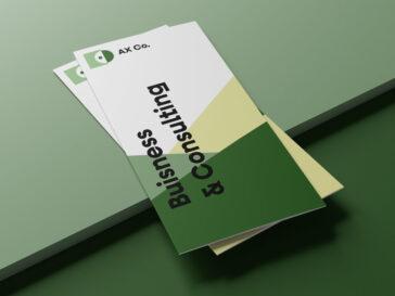 Trifold Brochure Mockups, Smashmockup