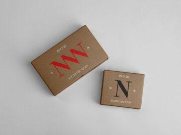 Small Paper Box Mockups, Smashmockup