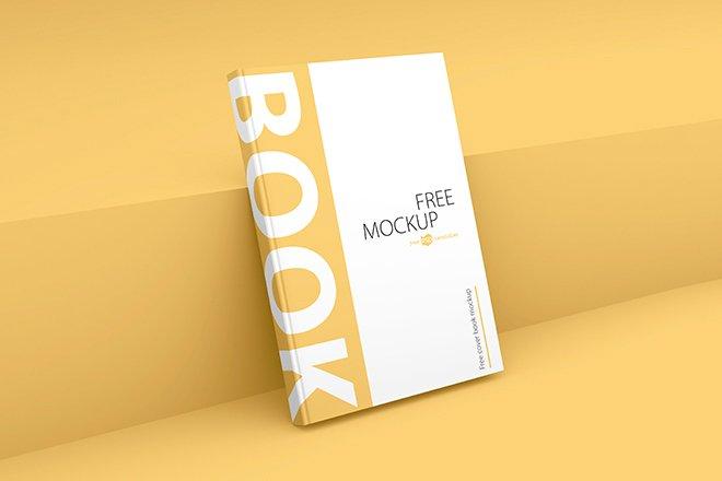 Elegant Book Cover Mockup Template, Smashmockup