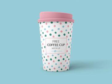 Coffee Cup Label Mockup Set, Smashmockup